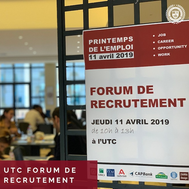 1UTC Forum de Recrutement 2019