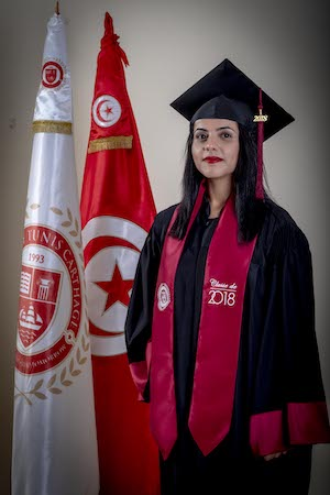 Photo Wafa Ben Aissa Alumni Carthage Business School