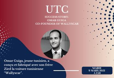 Conférence Omar Guiga - Cofondateur de WallysCar