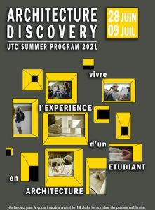 Poster for the Architecture Discovery Program by UTC Tunisia