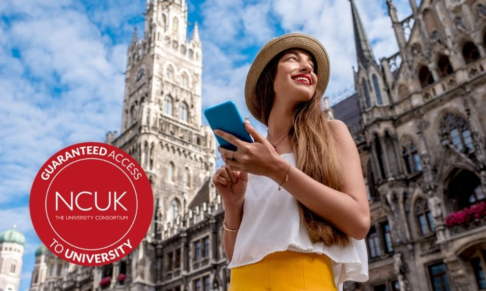 International student in London with NCUK Tunisia