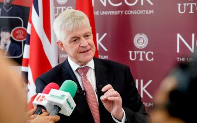 Partenariat UTC NCUK Inauguration